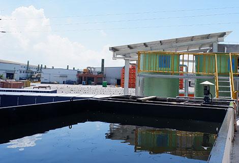 广东南沙垃圾发电厂浓水处理(30M³/D)