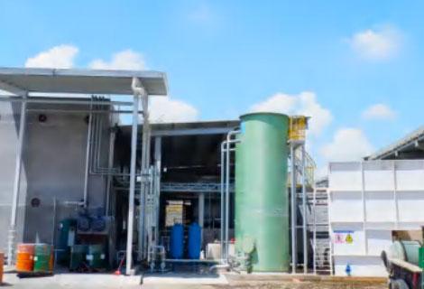 某国资集团喷涂废水膜前氧化处理(600M³/D)