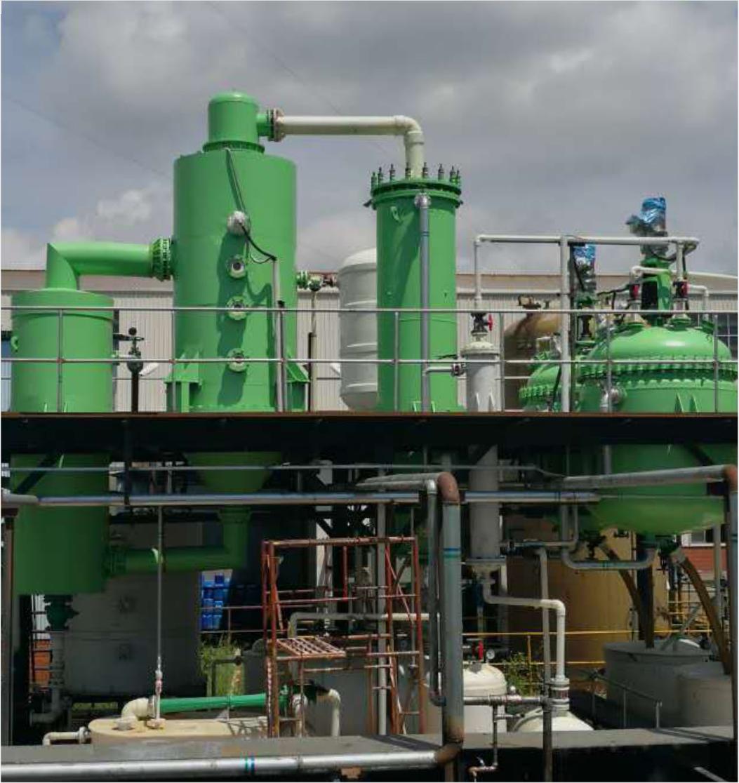 华津集团废酸蒸发回收处理装置